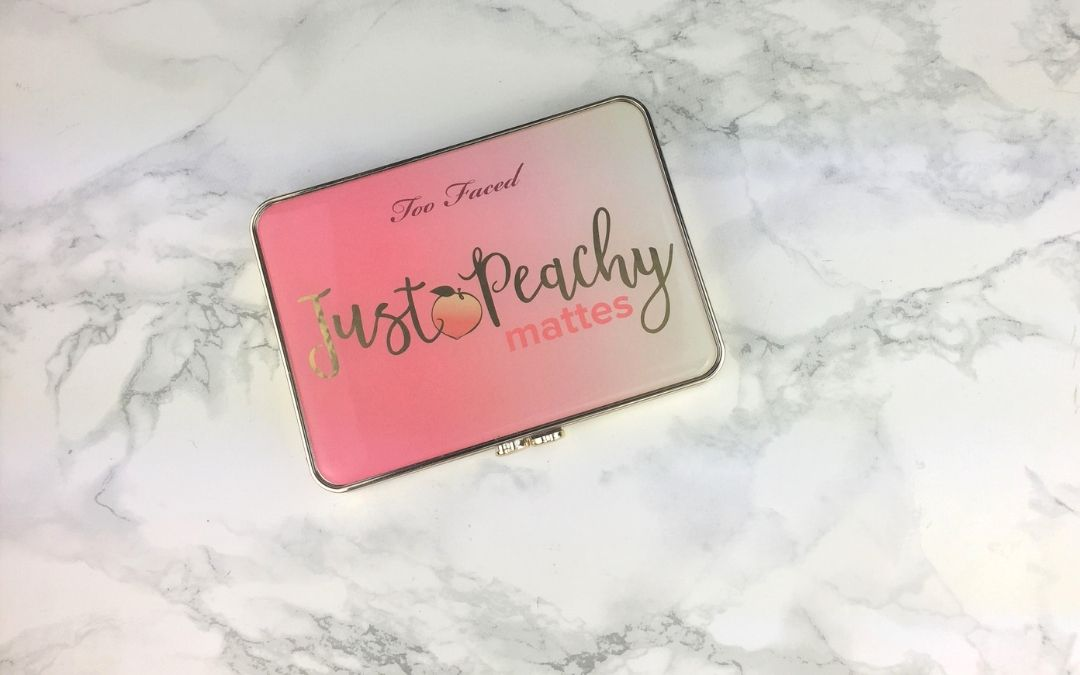 Too Faced – Just Peachy mattes Palette