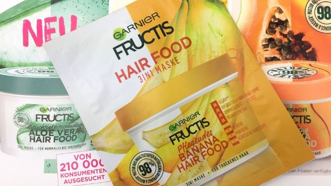 Fructis 3 in 1 Banana Hair Food Probe