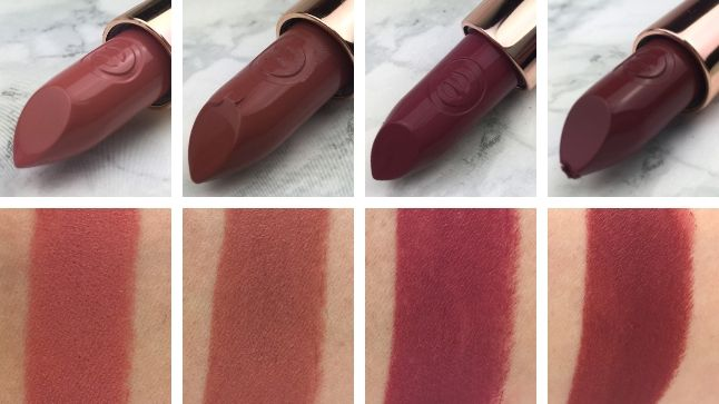 Essence- This is me! Review - Lippenstifte Swatches