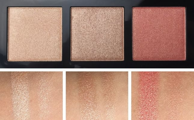 CATRICE – LUMINICE HIGHLIGHT & BLUSH GLOW PALETTE - Review - Swatches 1