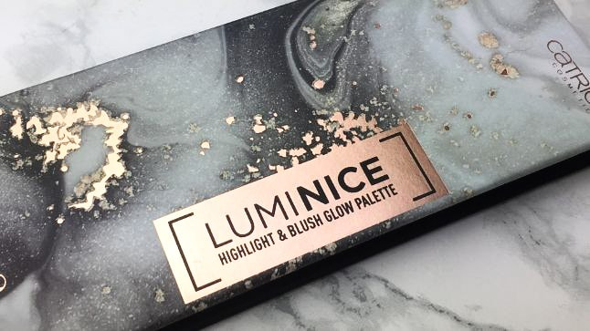 CATRICE – LUMINICE HIGHLIGHT & BLUSH GLOW PALETTE - Review - Verpackung Closeup-min