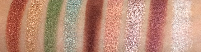 ESSENCE - Crystal Power Eyeshadow Palette Review - Swatches