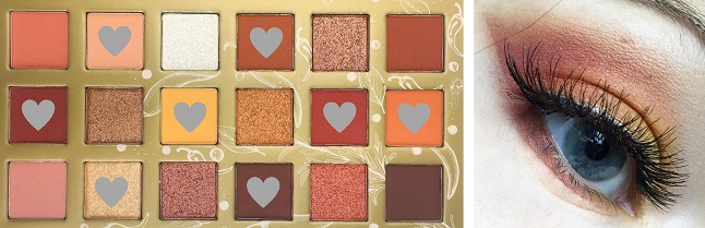 Essence Spice it up Eyeshadow Palette - Look