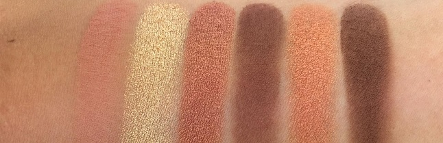 Essence Spice it up Eyeshadow Palette Review - Swatches Reihe 3