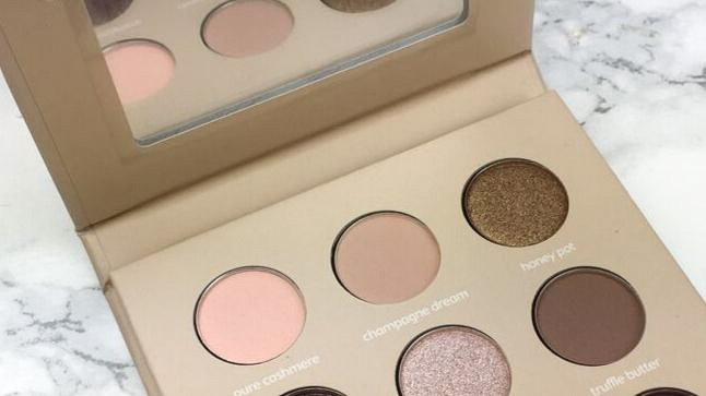 Look by Bipa - I am natural Eyeshadow Palette Review - Innen