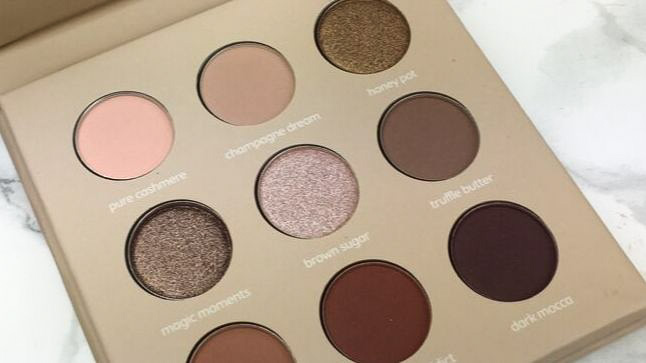 Look by Bipa - I am natural Eyeshadow Palette Review - Pfännchen alle