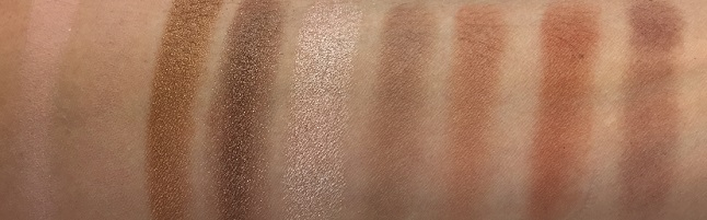 Look by Bipa - I am natural Eyeshadow Palette Review - Swatches