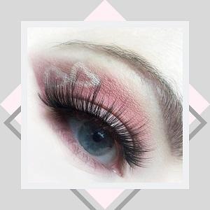 Beautyblog - Rosa Augenmakeup