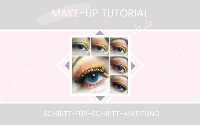 TUTORIAL | Schlupflider schminken: Easy Sunrise-Look