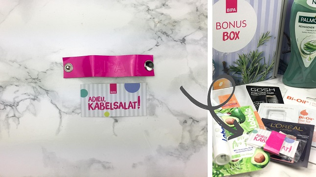 Bipa Bonusbox Oktober Unboxing - Inhalt - Kabelmanager