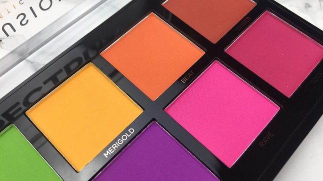 PROFUSION - Spectrum Palette - Review - Farben