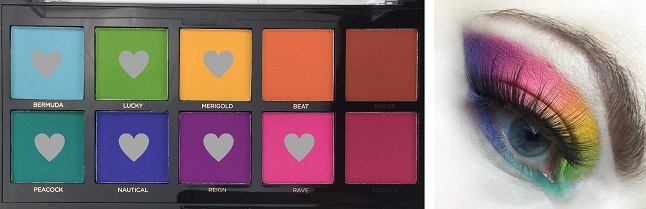 PROFUSION - Spectrum Palette - Review - Tragebild Look