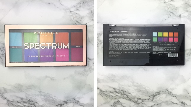 PROFUSION - Spectrum Palette - Review - Verpackung