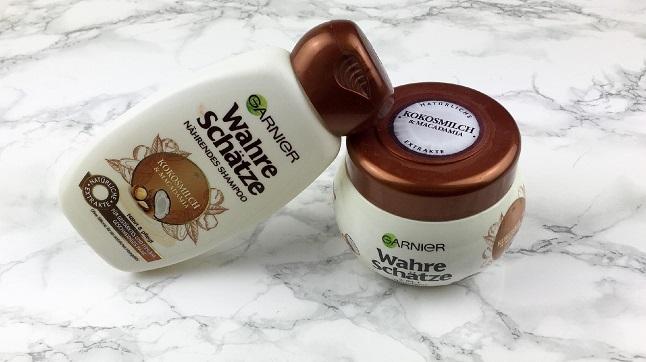 Garnier - Wahre Schätze Shampoo und Maske