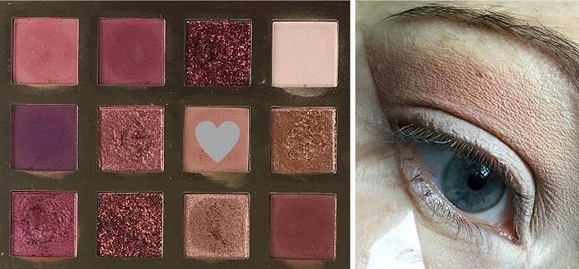 Make up Tutorial - Weihnachtslook 1 - Anleitung Schritt 2
