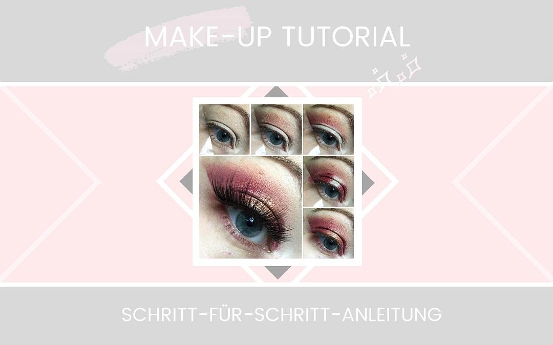 Make up Tutorial - Weihnachtslook 1 - Beitragsbild