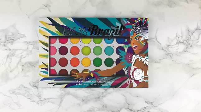 Black Friday 2019 - Beauty Bay Haul - BH Cosmetics Take me back to brazil Palette