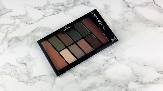 Black Friday 2019 Beauty Bay Haul - wet n wild Colour icon 10 pan palette