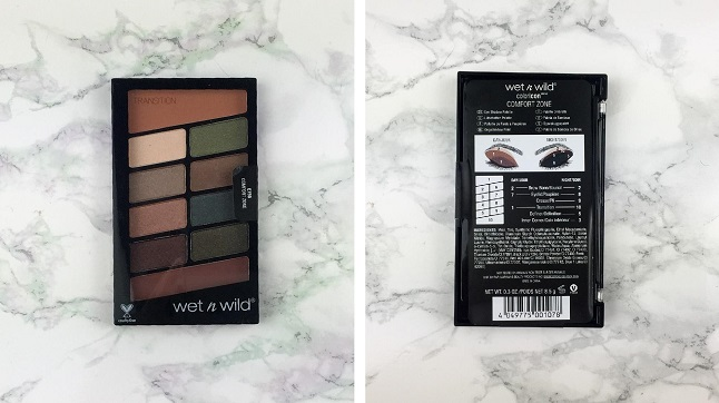 Wet n Wild - 10 Pan Palette Comfort Zone - Review - Verpackung