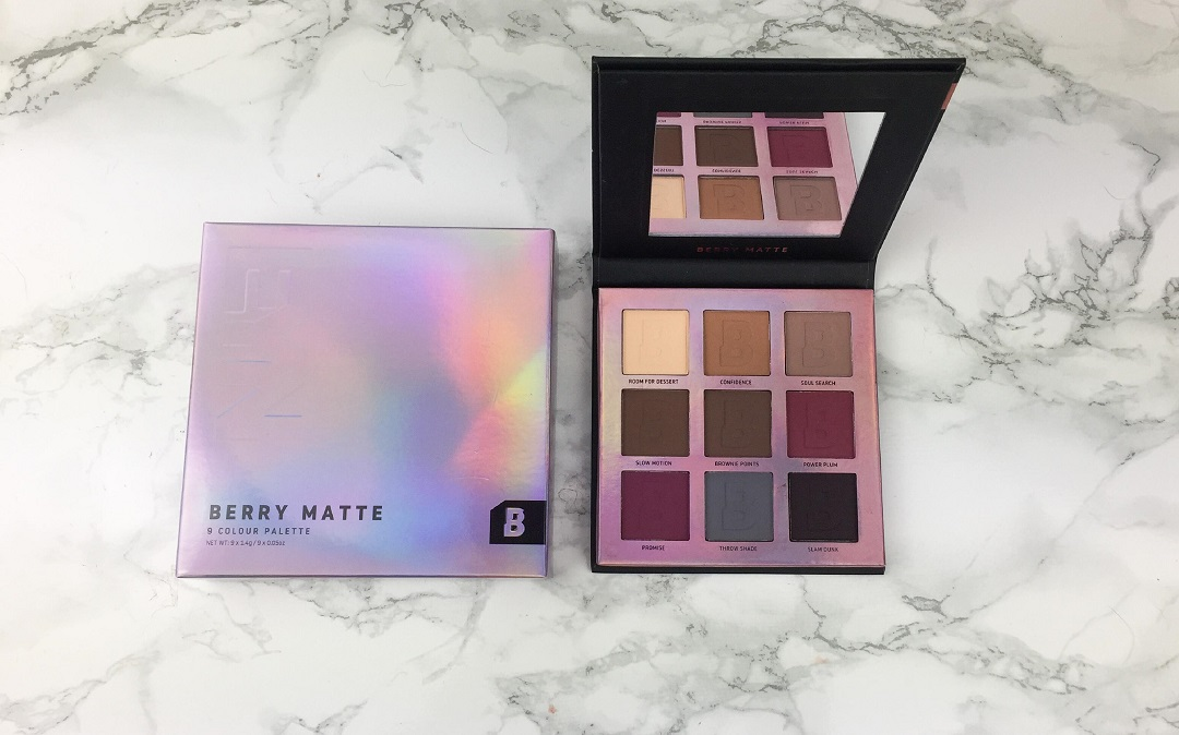 BEAUTY BAY – Eyn Berry Matte 9 Colour Palette