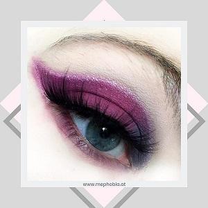 Beauty Bay - Eyn Berry matte 9 colour palette look 1