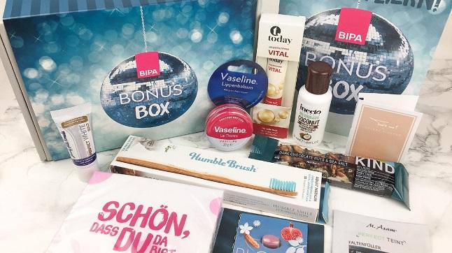 Bipa Bonusbox Jänner 2020 - Inhalt