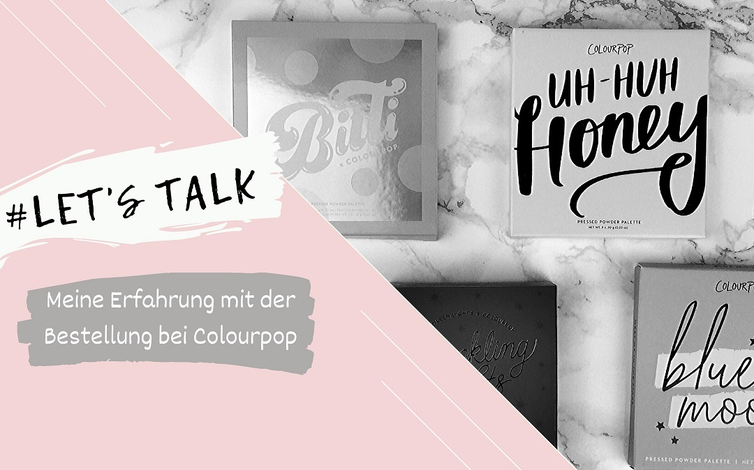 Colourpop Bestellung meine Erfahrung - Beitragsbild