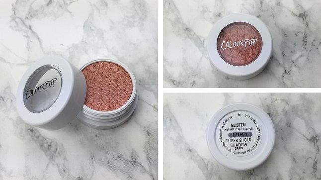 Colourpop - Twinkling lights eyes – Review - Glisten