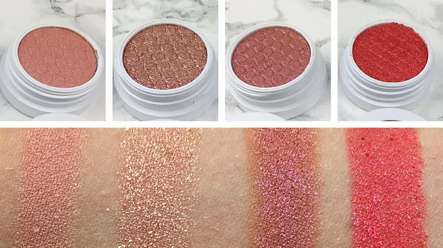 Colourpop - Twinkling lights eyes – Review - Swatches