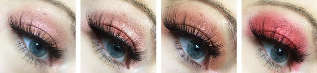 Colourpop - Twinkling lights eyes – Review - Tragebilder