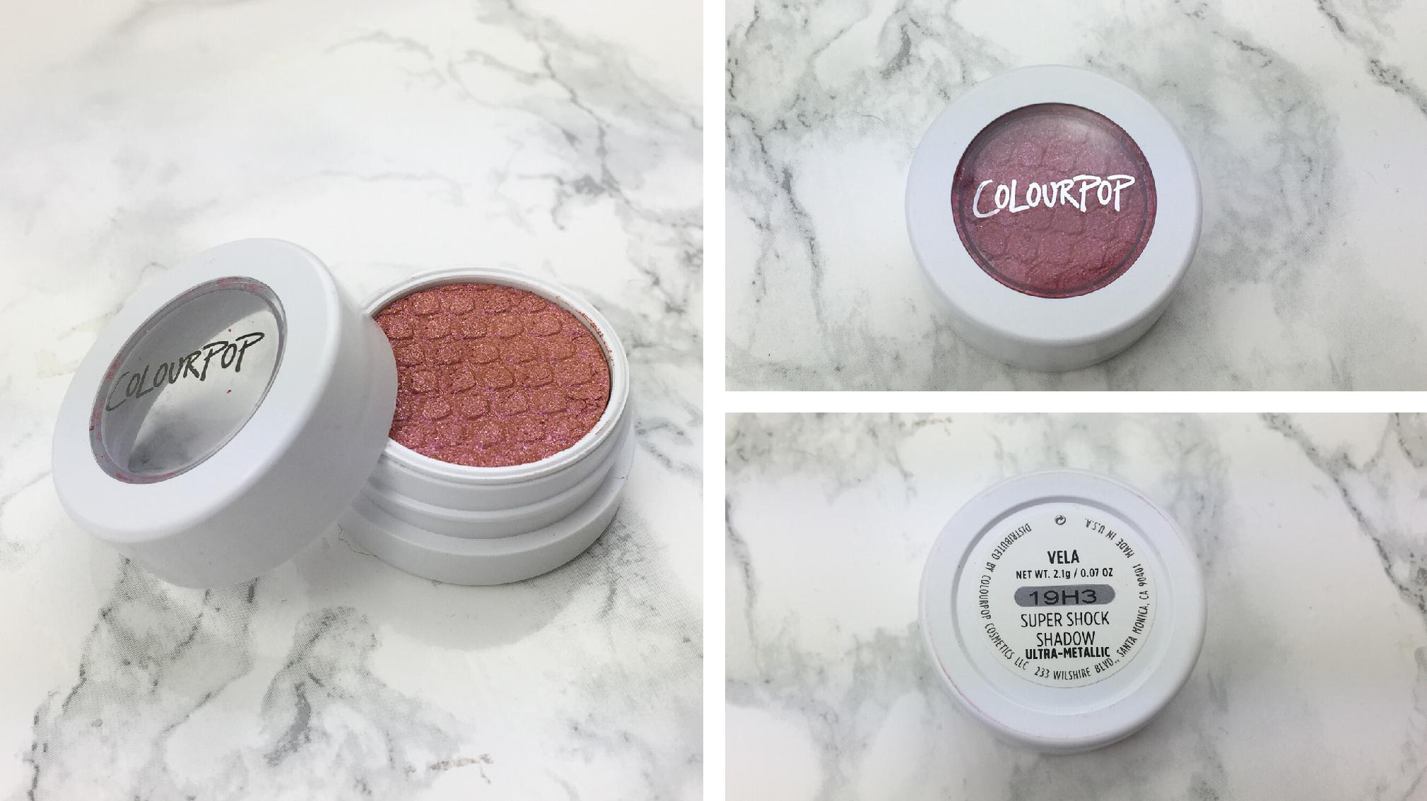 Colourpop - Twinkling lights eyes – Review - Vela