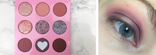 Eyemakeup Tutorial - Colourpop Candy Button Palette - rosa und lila Look -3a (1)