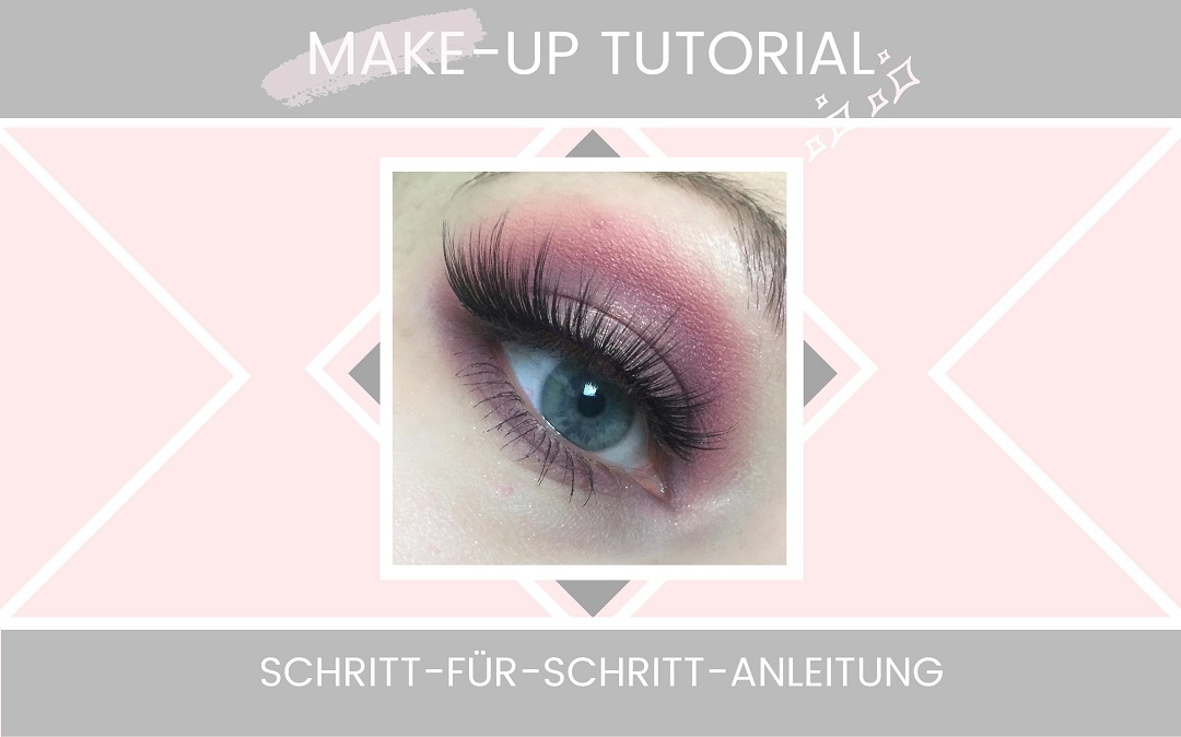 Eyemakeup Tutorial - Colourpop Candy Button Palette - rosa und lila Look -Beitragsbild