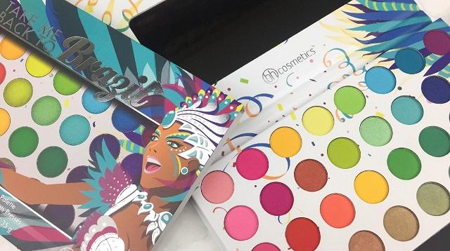BH Cosmetics - Take me back to Brazil Palette Review - 1