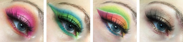 BH Cosmetics - Take me back to Brazil Palette Review - Tragebilder
