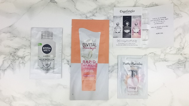 Bipa Bonusbox Februar März 2020 - Pröbchen Pflege und Parfum