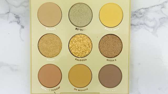Colourpop - Uh Huh Honey Palette Review - Farben