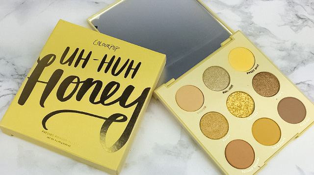 Colourpop - Uh Huh Honey Palette Review - Innenleben 1a