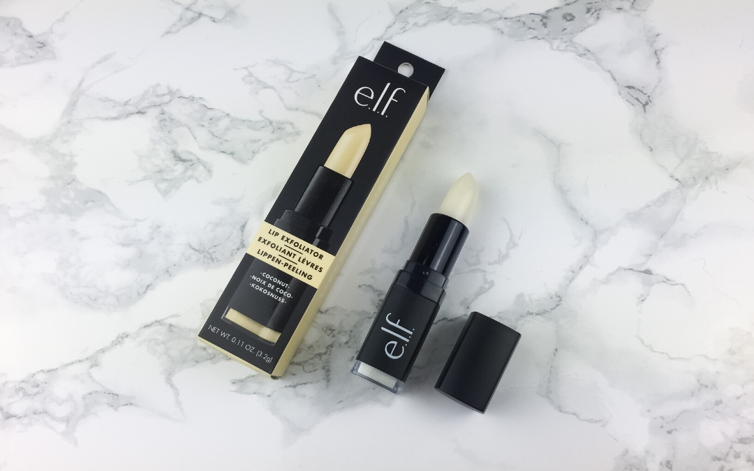 Elf Lip Exfoliator coconut Review - Beitragsbild