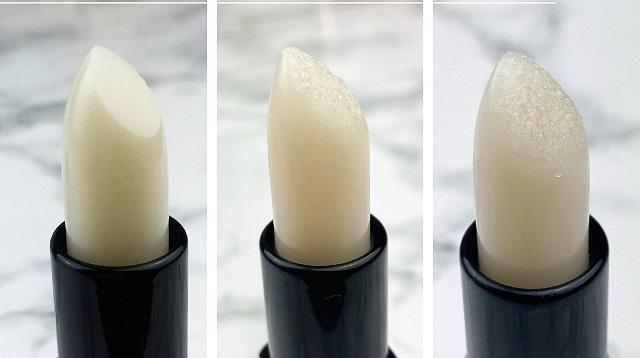 Elf Lip Exfoliator coconut Review - Oberfläche