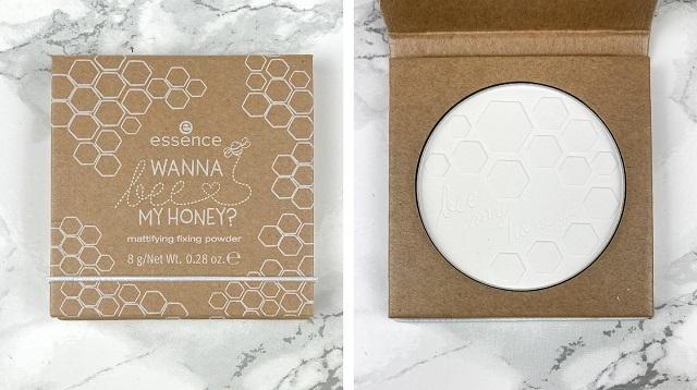 Essence - Wanna bee my Honey Trend Edition Review - Mattifying fixing Powder