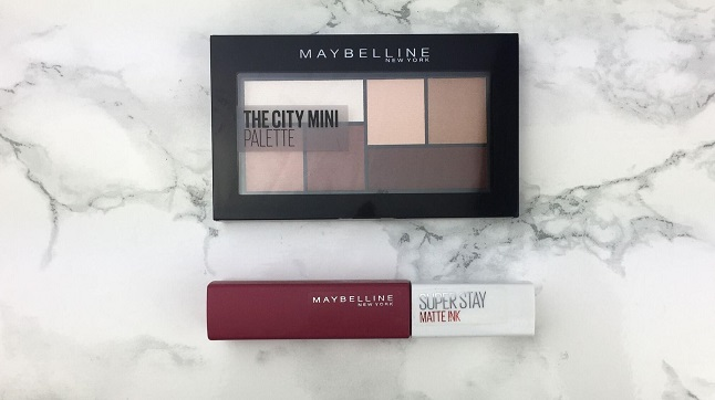 Eyeshadow Palette TAG - Juni 2020 - Maybelline - The City Mini