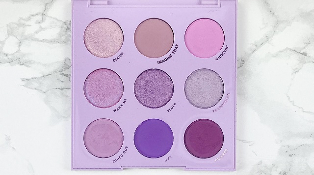 Colourpop - Lilac you a lot Palette - Review - alle Farben