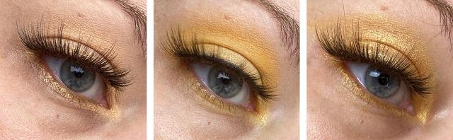 Essence - Wanna bee my Honey Palette Review - Tragebilder Looks