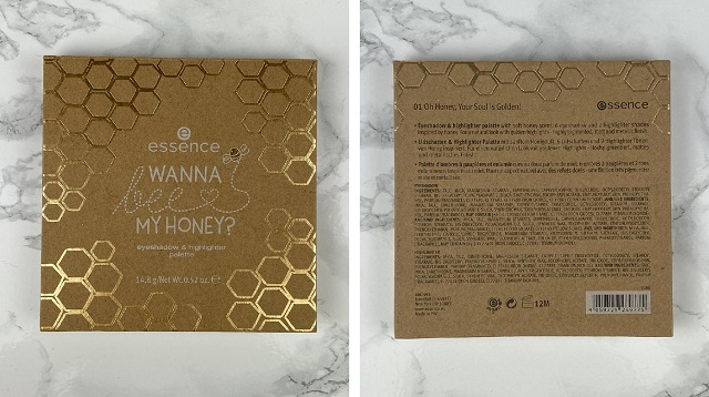 Essence - Wanna bee my Honey Palette Review - Verpackung