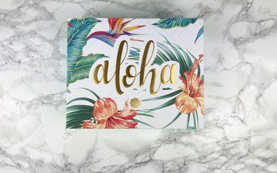 Glossybox – Juli 2020 | Aloha-Edition