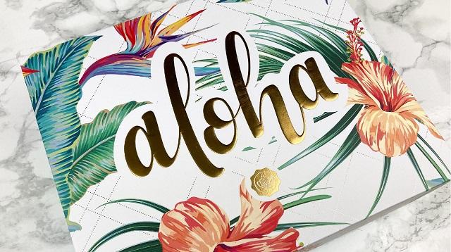 Glossybox Juli 2020 - Aloha - Verpackung