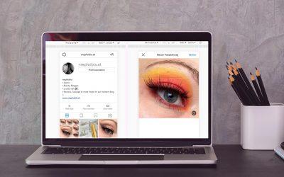 Bilder auf Instagram vom PC/Laptop posten