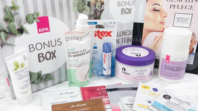 Bipa Bonusbox - Spezialbox Wellness für den Teint - gesamter Inhalt