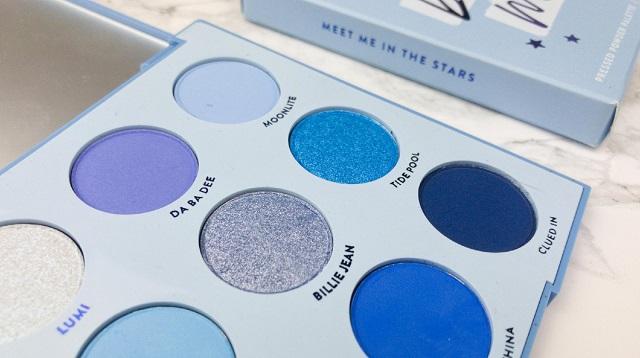 Colourpop - Blue Moon Palette Review - 2